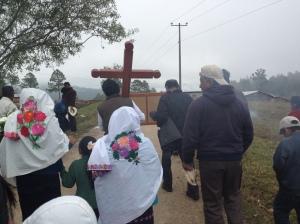 Prozession zum Nachbardorf