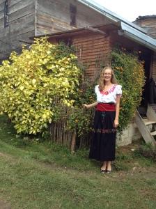 Traditionelle Tracht einer Huixteca