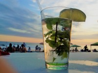Abends an der Strandpromenade von manuel Antonio