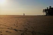 Abendstimmung am Strand von Uvita