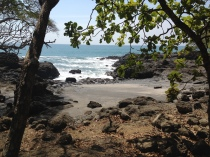 Felsiger Strand Halbinsel Nicoya