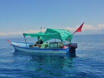 Fischer bei der Siesta