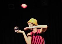 Estafania beim Auftritt