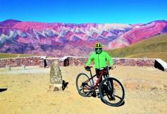 Radfahrer hat 4350 Höhenmeter erklommen!