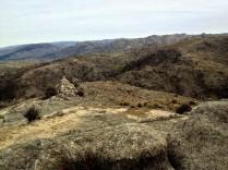 Hier kann man gut sehen, wie diese Gegend früher mal ausgesehen hat - Baumlos!